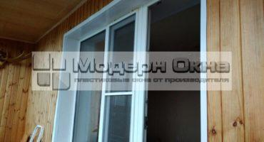 Остекление балкона пластиковыми окнами (Москва)