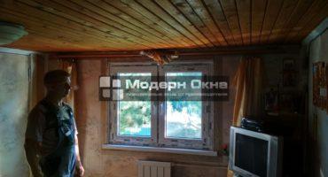 Остекление дачи окнами Rehau Blihz New
